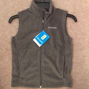 Kids Columbia fleece vest